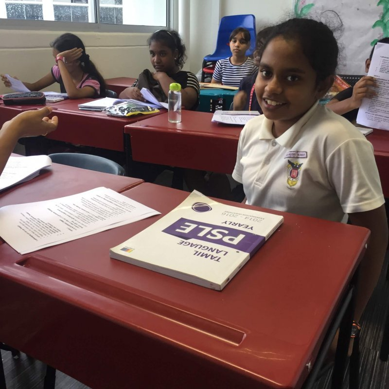 Primary 5 / 6 Higher Tamil tuition class